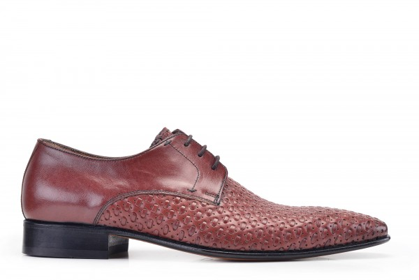 Nevzat Onay - Nevzat Onay Men Brown Leather Lace Up Derby Shoes