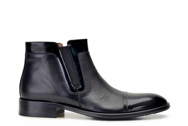 Nevzat Onay - Nevzat Onay Men Black Leather Boots
