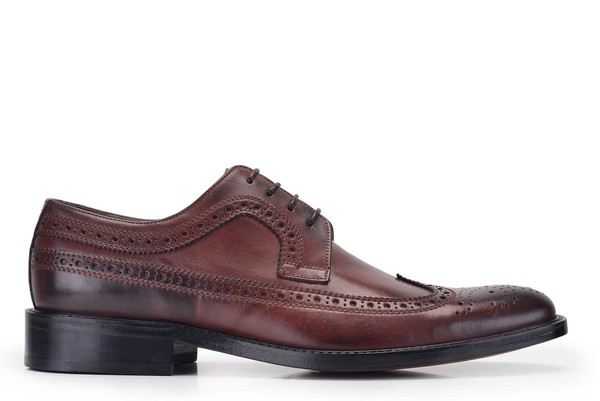 Nevzat Onay - Nevzat Onay Men Brown Lace Up Derby Shoe