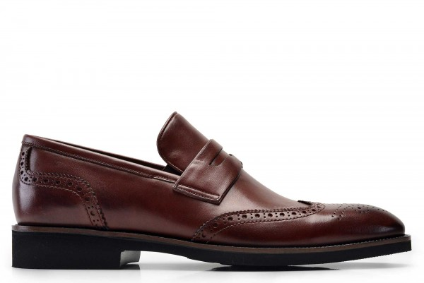 Nevzat Onay - Nevzat Onay Men Brown Loafer Shoe