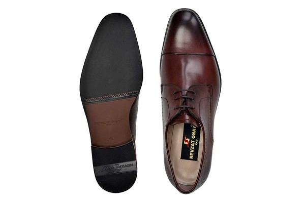 Nevzat Onay - Nevzat Onay Men Brown Leather Neolith Derby Shoes