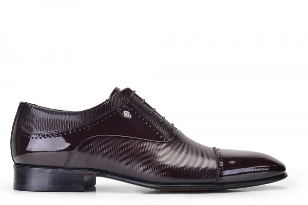 Nevzat Onay - Nevzat Onay Men Polished Brown Leather Oxford Shoes